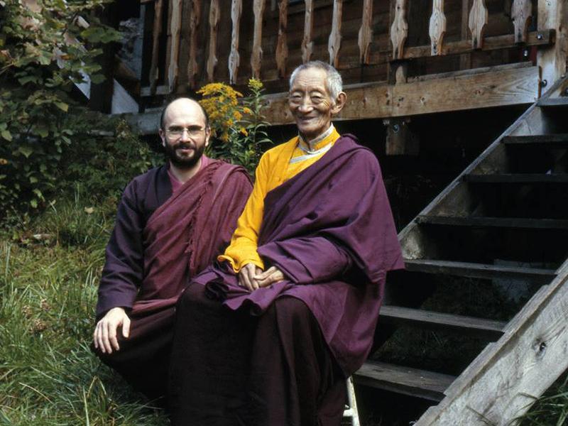 Lama Denys e Kalu Rinpoche