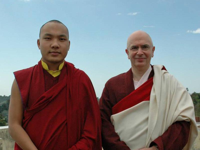 Lama Denys e Karmapa